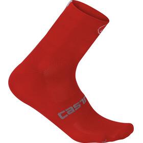 Castelli Quattro 9 Cycling Socks red
